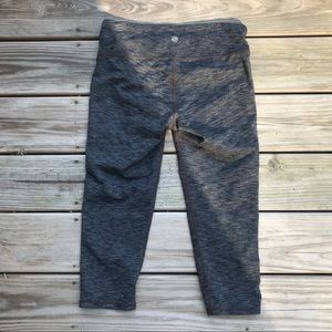 ATHLETA Gray Cropped Leggings
